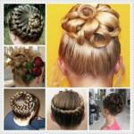 çocuk topuz saç modelleri
