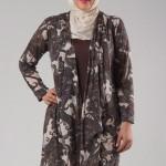 2013 Büyük Beden Tesettürlü Elbise Modelleri