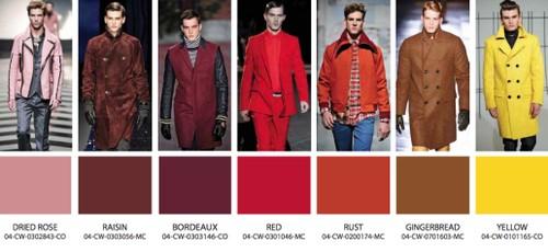2014 kış modası rengi erkek