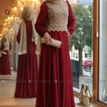 2015 Tesettür abiye elbise modanisa