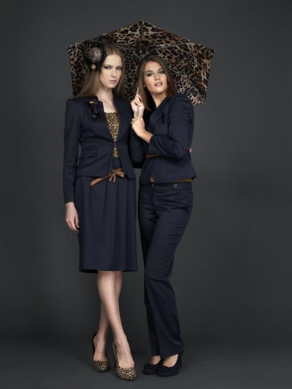 Accort Giyim Bayan Takim Elbise