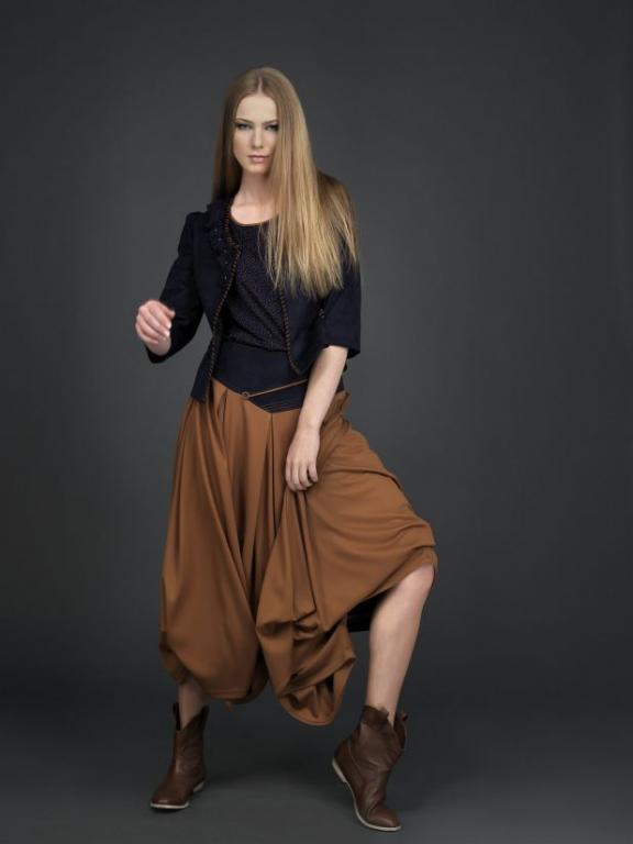 Accort Giyim Salvarli Elbise
