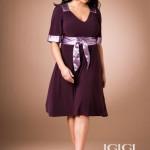 Büyük Beden Elbise Modelleri 2013