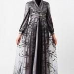 Büyük Beden Tesettürlü Elbise Modelleri 2013