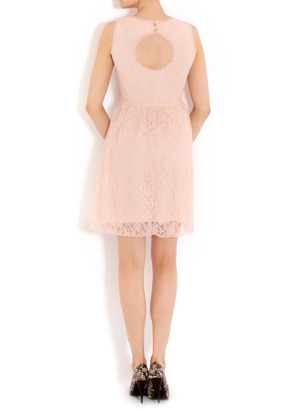 Batik Sırt Dekolteli Elbise