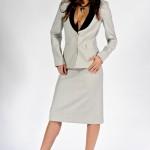 Bayan Beyaz Takım Elbise