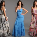 Boydan Desenli Elbiseler
