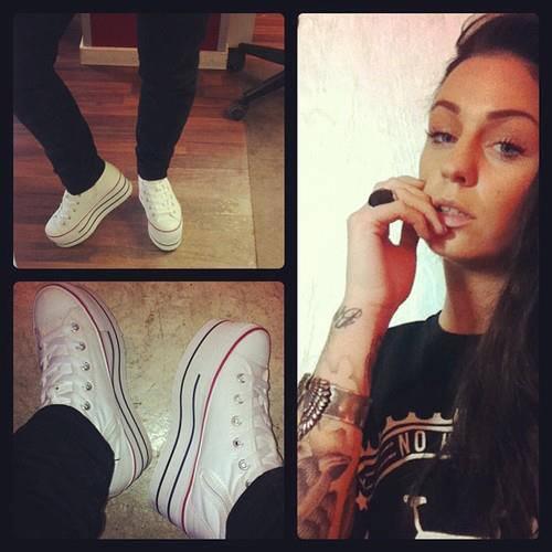 Conakers Beyaz Bayan Spor Ayakkabı