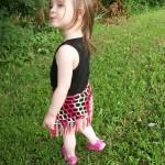 El işi kolay çocuk etek modeli