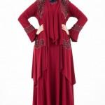 Espera Büyük Beden Tesettürlü Elbise Modelleri