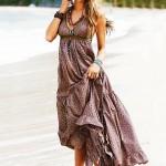 Modern Boydan Elbise Modeli