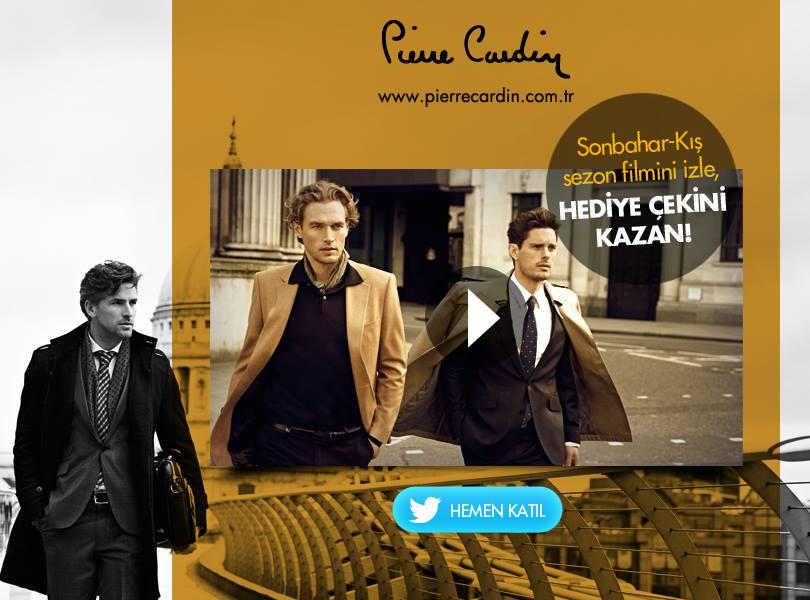 Pierre Cardin Sonbahar Kis Koleksiyonu
