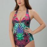 Renkli Toparlayıcı Bikini