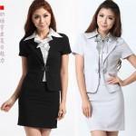 Siyah Mini Etekli Takım Elbise