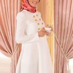 Tozlu giyim beyaz tunik