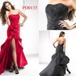 Yeni Moda Önü Kısa Elbiseler