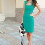 Yeni Moda Su Yeşili Nişanlık