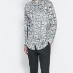 Zara modern gömlek