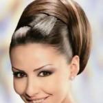 abiye Topuz saç modeli
