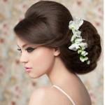 abiye Topuz saç modelleri ve örnekleri