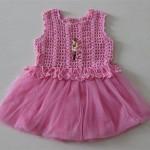 bebek elbise modelleri pembe
