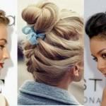 günlük topuz saç modelleri nasıl yapılır