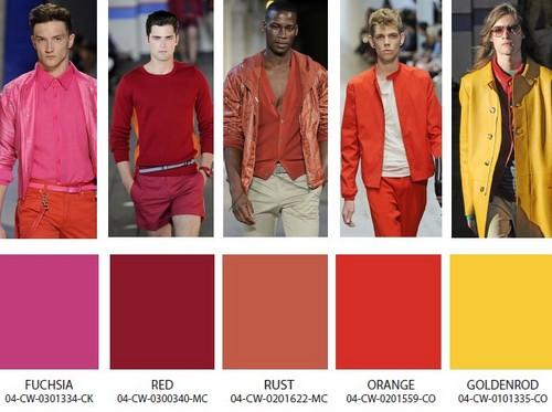 kış modası rengi erkek