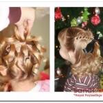 kız çocuk topuz saç modelleri 2015