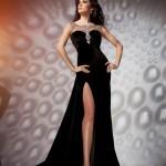 kadife elbise 2013