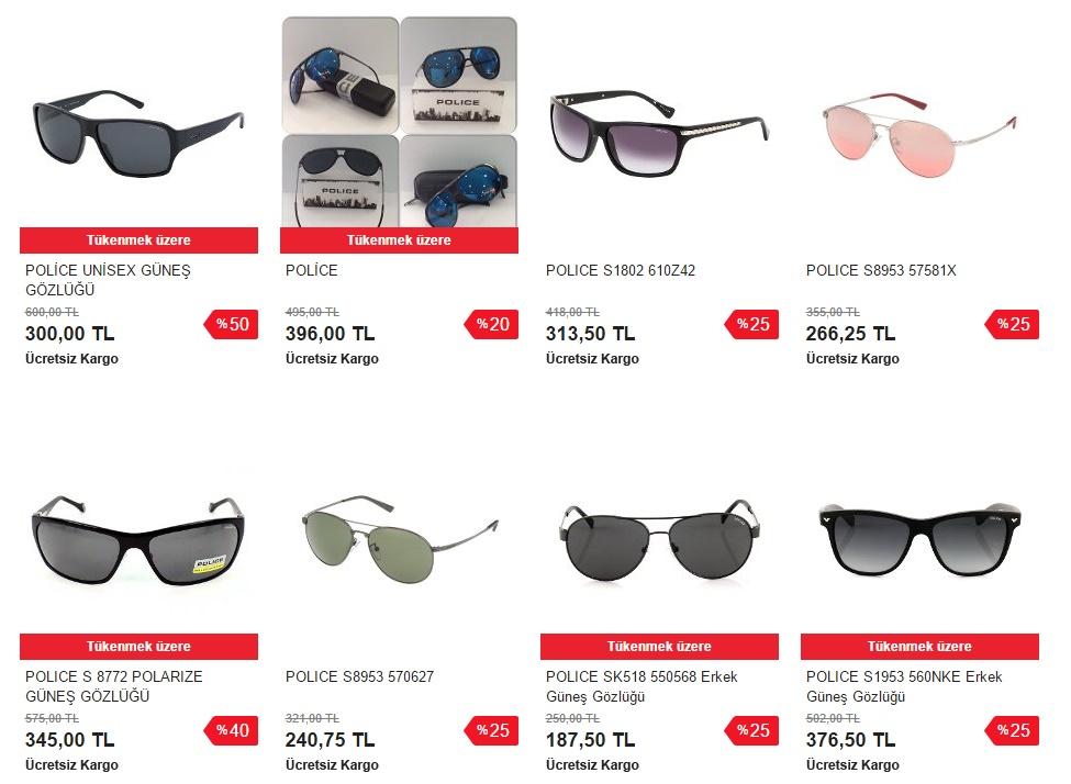 police gözlük modelleri ve fiyatları