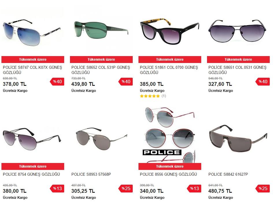police gözlük