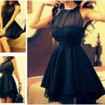 siyah abiye kıyafetler
