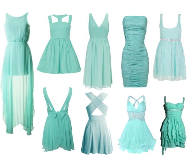 848489fc4fb11 2014 yılının yaz sezonu bayan elbise modellerin ağırlıkla su yeşili, mint  yeşili ve zümrüt yeşili renk olarak moda severlerin gözdesi olacak.