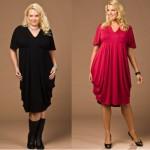 trend Büyük Beden Elbise Modelleri