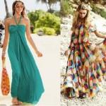 yazlık abiye elbise kombinleri