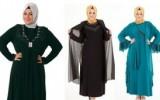 Büyük Beden Tesettürlü Elbise Modelleri