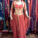 Kırmızı Kına Gecesi Elbisesi