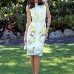 Mini çiçek desenli kısa elbise