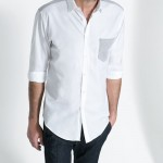 Zara beyaz erkek gömlek